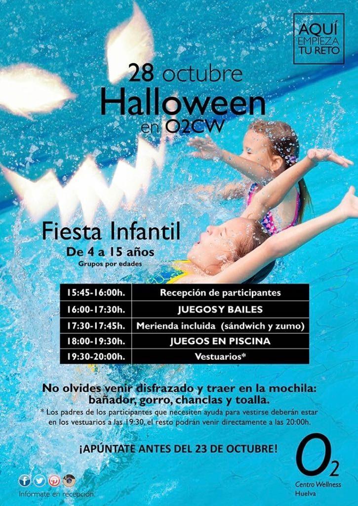 juegos halloween piscina