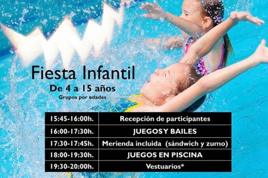 No te pierdas la Fiesta Infantil en Piscina